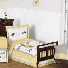 Honey Bee Toddler Bedding Set