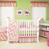Hula Baby Hawaiian Baby Bedding - 4 Piece Crib Set by Trend Lab