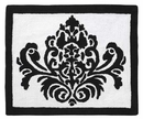 Isabella Hot Pink, Black and White Collection Accent Floor Rug