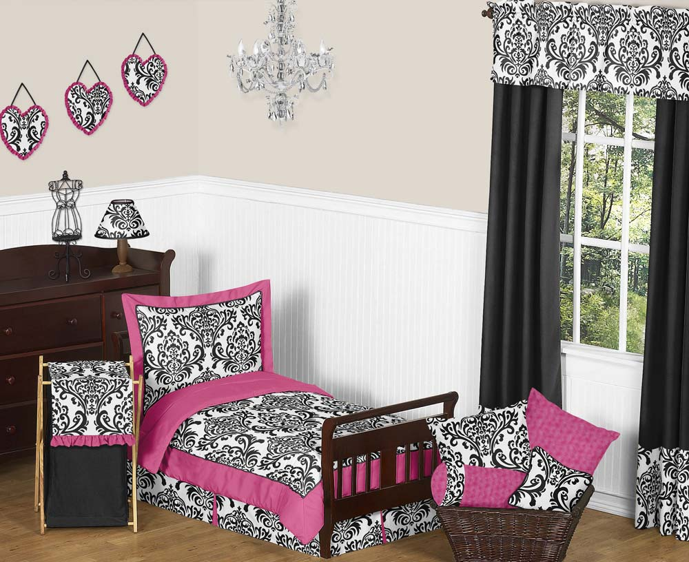 hot pink damask bedding www galleryhip com the hippest pics