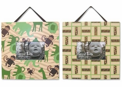 Jungle Jam 2 Piece Picture Frame Set