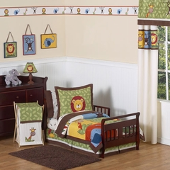Jungle Time Animals Toddler Bedding Set