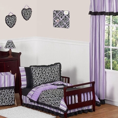 Kaylee Purple Toddler Bedding Set