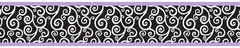 Kaylee Purple Wall Paper Border by Sweet Jojo Designs