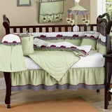 Ladybug Parade Baby Bedding - 9 Piece Crib Set