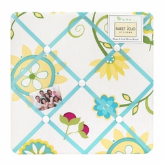 Layla Fabric Memo Board by Sweet Jojo Designs