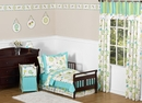 Layla Modern Flower Bedding - Toddler Bedding Set