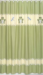 Leap Frog Shower Curtain by Sweet Jojo Designs