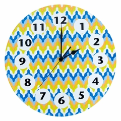 Levi Chevron Wall Clock by Trend Lab