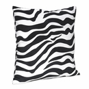 Lime Green Collection Zebra Decorative Pillow