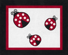 Little Ladybug Accent Floor Rug by Sweet Jojo Designs