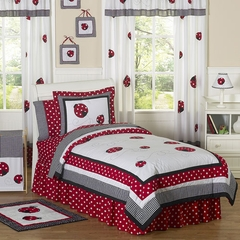 Little Ladybug - Kids Bedding 4 Piece Twin Set