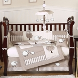 Little Lamb Baby Bedding -9 Pc Crib Set