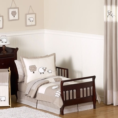 Little Lamb Bedding - 5 Pc Toddler Bedding Set