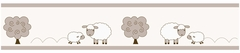 Little Lamb Wallpaper Border by Sweet Jojo Designs