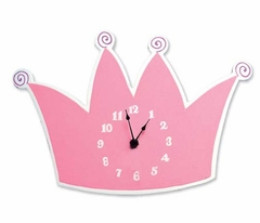Little Princess Tiara Clock