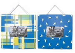Nantucket Blue 2 Piece Picture Frame Set