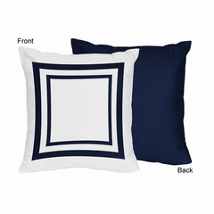Nautical Anchor Collection Decorative Accent Throw Pillows Set