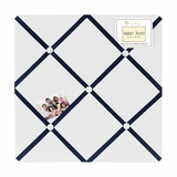 Nautical Anchor Collection Fabric Memo Board