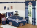 Nautical Nights Sailboat Kids Bedding 4 Piece Twin Set