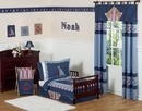 Nautical Nights Sailboat Toddler Bedding Set