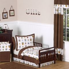 Night Owl Bedding - Toddler Bedding Set