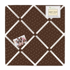 Night Owl Collection Fabric Memo Board