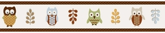 Night Owl Wallpaper Border By Sweet Jojo Designs