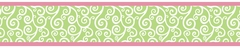 Olivia Scroll Print Wall Paper Border by Sweet Jojo Designs