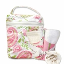 Paisley Park Bottle Bag and Bib Set