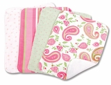 Paisley Park Burp Cloth Set