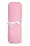 Pink 100 Cotton Jersey Crib Sheet