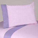 Pink and Purple Butterfly 4 Piece Queen Sheet Set