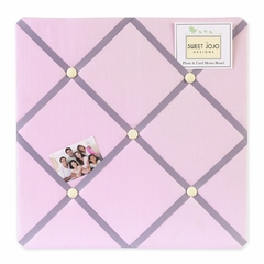 Pink and Purple Butterfly Collection Fabric Memo Board