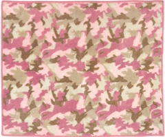 Pink Camo Accent Floor Rug by Sweet Jojo Designs