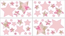 Pink Camo Wall Decals - Set of 4 Sheets by Sweet Jojo Designs