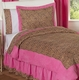 Pink Cheetah Print Girls Bedding 4 Pc Twin Bedding Set