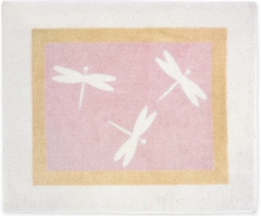 Pink Dragonfly Dreams Accent Floor Rug by Sweet Jojo Designs