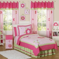 Pink Flower - Kids Bedding 4 Piece Twin Set