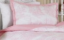 Pink French Toile Pillow Sham by Sweet Jojo Designs