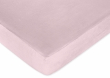 Pink Zebra - Solid Pink Crib Sheet