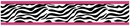 Pink Zebra Wallpaper Border By Sweet Jojo Designs