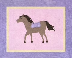 Pony Accent Floor Rug by Sweet Jojo Designs