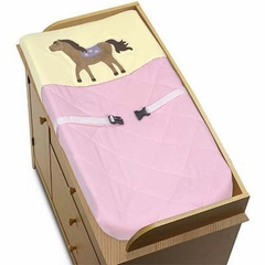 Pony Western Changing Pad Cover By Sweet Jojo Designs
