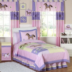 Pony Western Kids Bedding - 4 Piece Twin Set