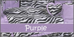 Purple Baby Bedding