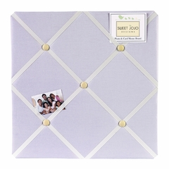 Purple Dragonfly Dreams Collection Fabric Memo Board