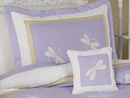 Purple Dragonfly Dreams Pillow Sham by Sweet Jojo Designs