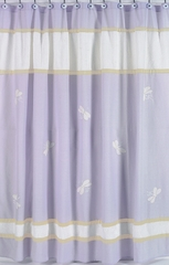 Purple Dragonfly Dreams Shower Curtain by Sweet Jojo Designs