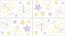 Purple Dragonfly Dreams Wall Decals by Sweet Jojo Designs